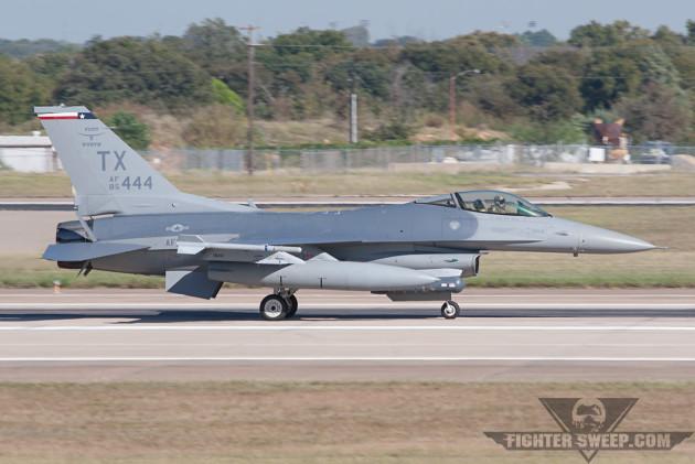 F-16s Collide At Nellis