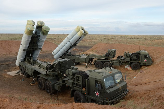 "The Almaz-Antey S-400 ""Triumf,"" also known by its NATO codename of SA-21 ""Growler."" (Photo Courtesy of NOSINT)"
