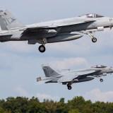 NAS Lemoore: Vehicle Crashes Into Super Hornet, Killing 2