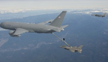Reserve Pilot Leads Pegasus Charge To Delivery