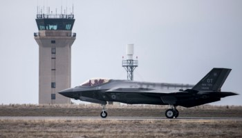 F-35s Conduct Deployment Test at Mountain Home!