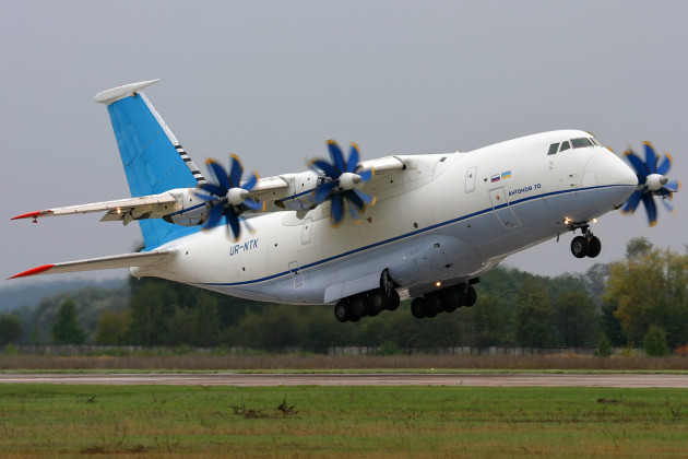 Antonov An-70 cargo transport aircraft. (Photo courtesy of Wikimedia)