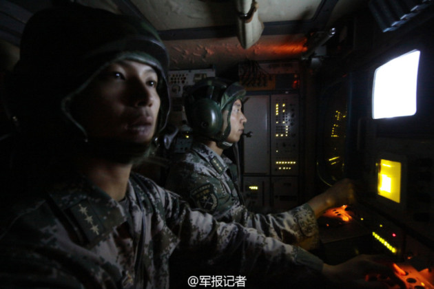Chinese Air Defense System radar operators. (Photo courtesy of asian-defence-news.blogspot.com)