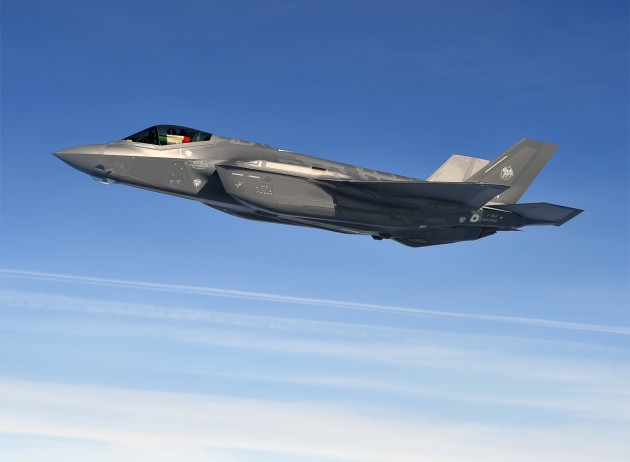 F-35A Atlantic Crossing