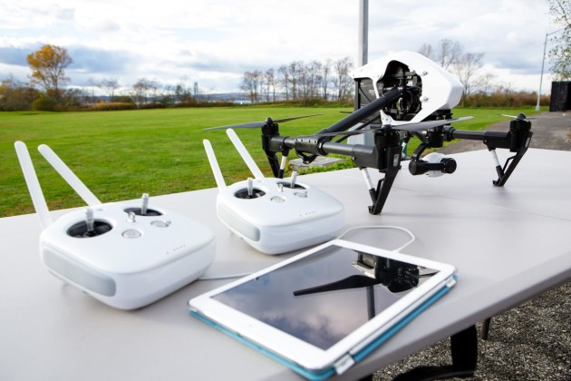 Drones like this DJI Inspire 1 are becoming inrceasingly popular, and for good reason--but present a real threat to manned aircraft operations. (Photo courtesy of YouTube)