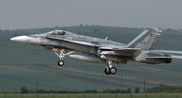 Canada: 4 CF-188 Hornets and 100 Personnel To Deploy