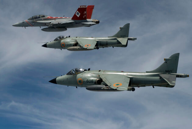 Sea Harrier Retires From Indian Navy