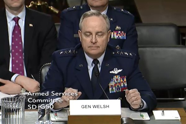 General Mark Welsh III, Air Force Chief of Staff, reacts to statements made by John McCain about the A-10. (Photo courtesy of airforcemag.com)