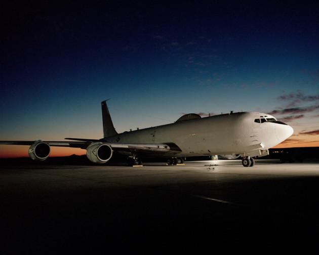 "E-6B ""Mercury"" TACAMO aircraft. (U.S. Navy photo)"