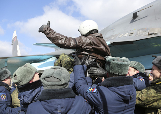 Russian Su-34s Return Home From Syria