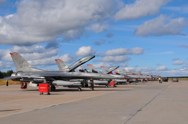 Burner Friday: Warhawks F-16CJ at Red Flag!