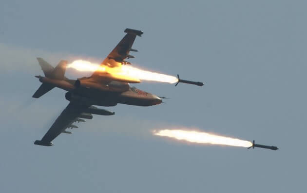 Su-25 Frogfoot: 6,000 Munitions Dropped In Syria