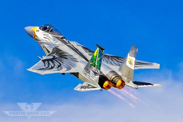 Burner Friday: OR ANG 75th Anniversary F-15C