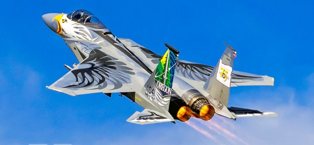 Burner Friday: OR ANG 75th Anniversary F-15C