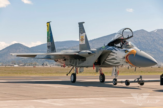 How The 173rd FW Painted The Coolest Eagle Ever!