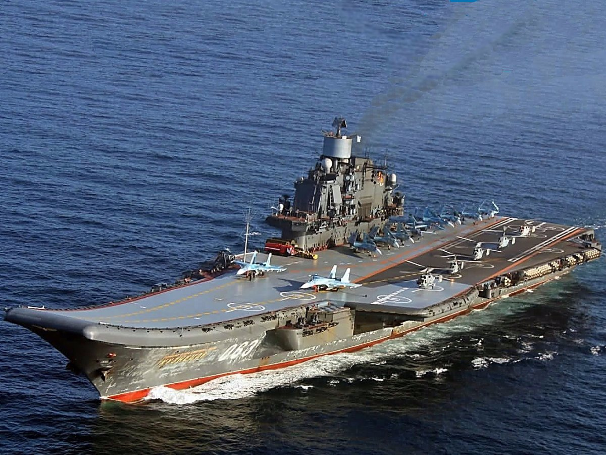 Mass media: Admiral Kuznetsov and the group of ships headed by him are preparing a strike on militants 08.11.2016 7