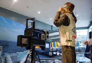 LSO exhibit. Credit: National Naval Aviation Museum