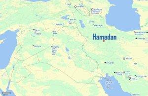 Iran's Hamadan air base