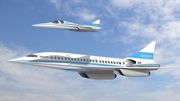 xb1 boom supersonic jet
