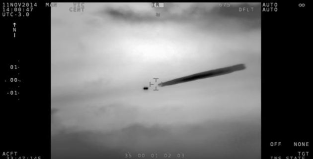Chilean Navy UFO video