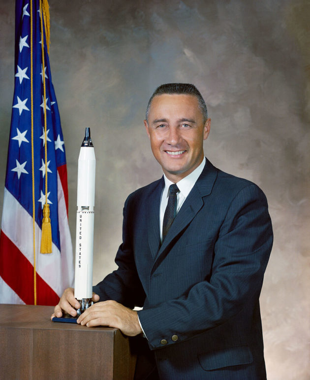 Virgil I. Gus Grissom by NASA