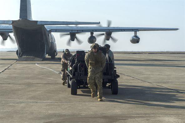 Forward Air Refueling Point FARP c-130