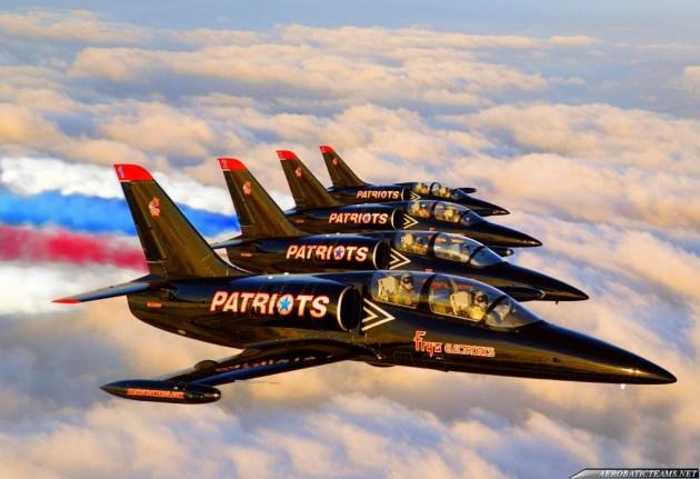 patriots-jet-team