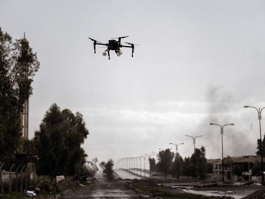 iraqi drone mosul