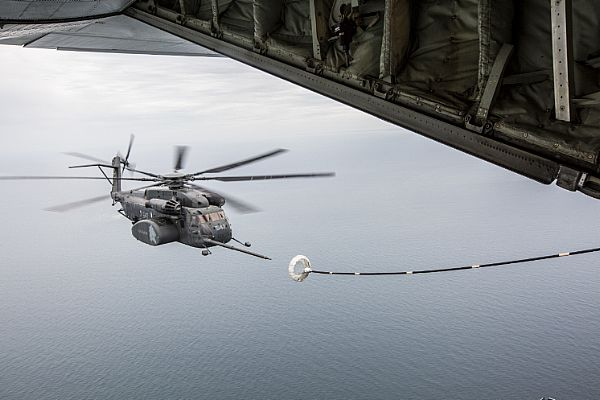 VMGR-252 Aerial Refueling