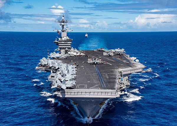 USS Carl Vinson CVN 70 westpac