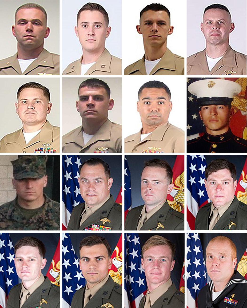 marines killed in kc-130 crash mississippi