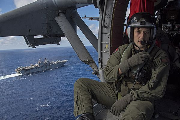 Picture of the Day: Naval Aircrewman 2nd Class Brice Mora