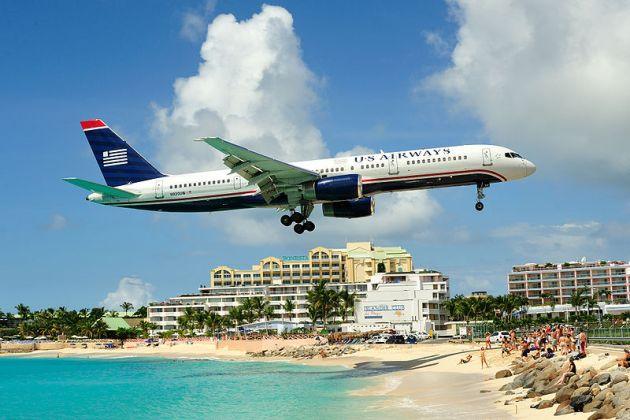 Princess_juliana_international_airport_approach