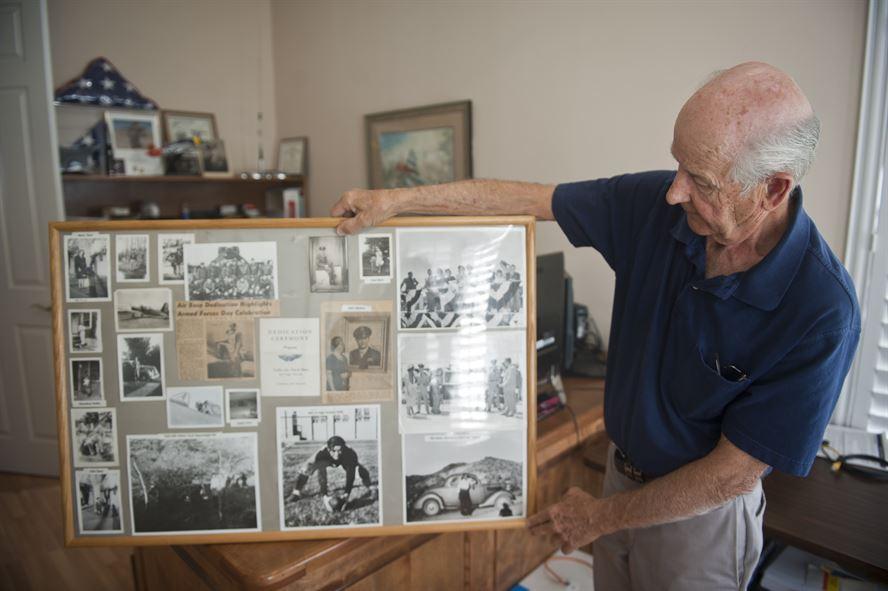 Gary Nellis son of the late 1st Lt William Harrell Nellis