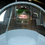 Maj Glenn Meleen a test pilot for the 40th Flight Test Squadron