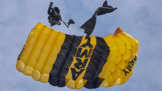 Thunder Over the Boardwalk Air Show in Atlantic City Army Golden Knights