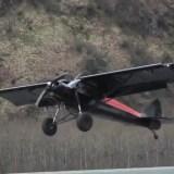 Worlds Record Shortest Landing piper cub