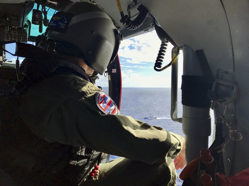 search for missing army helicopter crew hawaii