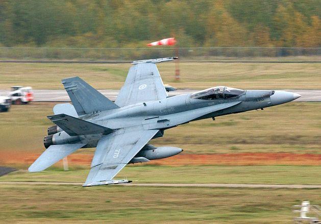 Royal Canadian Air Force RCAF CF-18 Hornet Cold Lake
