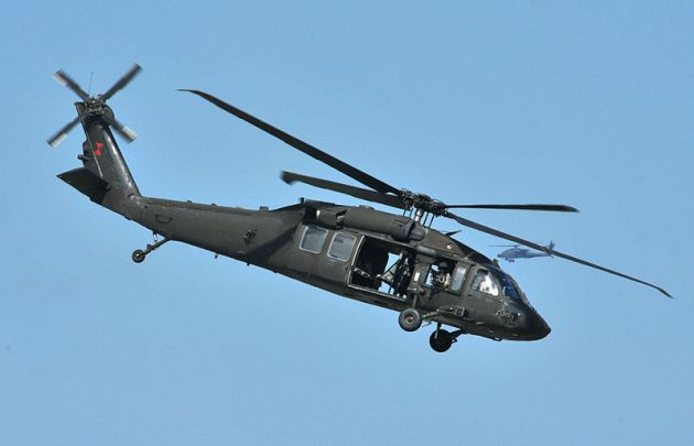 US Army UH-60 Black Hawk helicopter assigned to the 159th Combat Aviation Brigade 101st Airborne Division