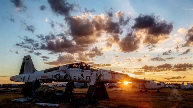 the boneyard davis monthan afb arizona
