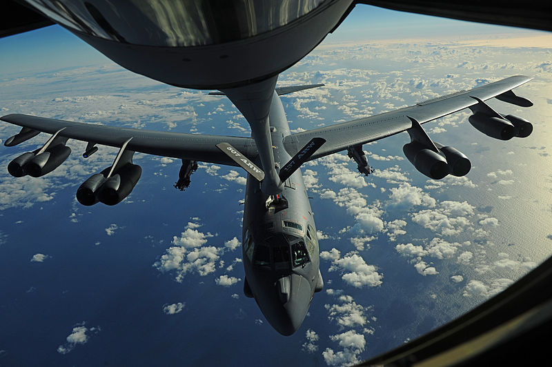Watch: US Air Force B-52H Stratofortress Aerial Refueling from a