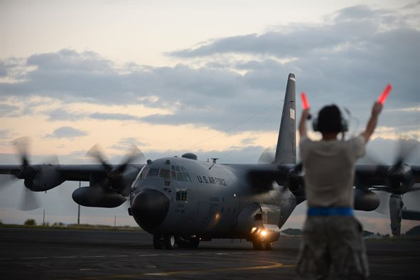 Air Force Says Goodbye to Last Active Duty C-130H Hercules