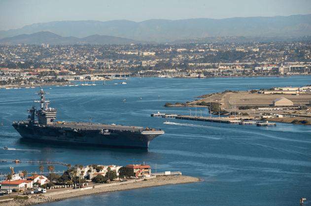 Man_the_Rails_USS_Theodore_Roosevelt_Departs_San_Diego