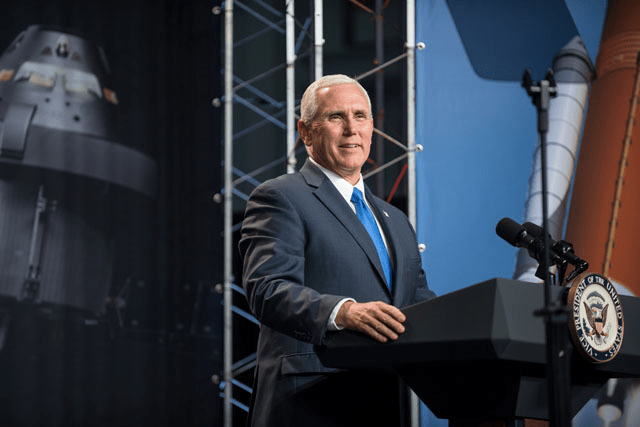 vice president pence nasa back to the moon