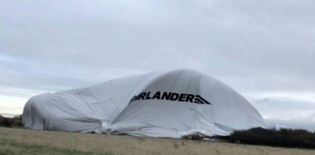 british airship crash airlander