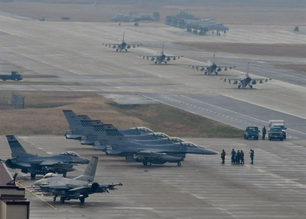 Exercise VIGILANT ACE 18 at Osan Air Base