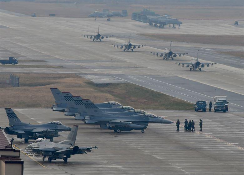 Exercise VIGILANT ACE 18 at Osan Air Base