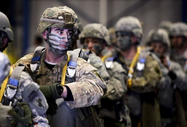 U.S. Army Reserve Maj. Jay Favuzzi, 412th Civil Affairs Battalion civil-military operations center chief