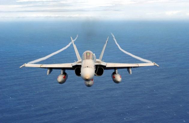 f-18 pilots see ufo